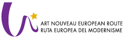 Logo of Art Nouveau European Route