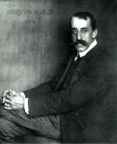 Portrait of Henry van de Velde taken in 1904