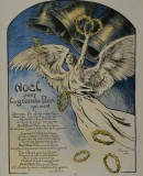 Victor Prouvé, 1914. Christmas for Peace poster. Photo: Damien Boyer