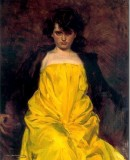 Ramon Casas. <em>La Sargantain</em>, 1907. Oil on canvas © El Cercle del Liceu
