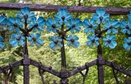Author unknown, ca. Detail of wrought iron gate at Rue David-Pierre-Bourquin, 55