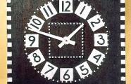 Horloge de bureau. Glasgow School of Art