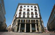 Adolf Loos, 1910-1911. Edificio Loos, ubicado en la Michaelerplatz, 3
