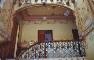 Staircase in the house at Plaça Sant Vicenç 3