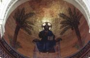 Louis Faure Dujarric, 1910. Pantocrator above the main altar at the Instituto S.E. UNZUE