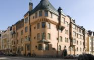 Werner von Essen, 1903. Norma residential building, located in Luotsikatu 10. Katajanokankatu 3