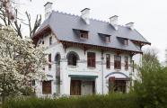 Gustave Serrurier-Bovy built his own house, called L\'Aube in 1903